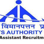 Airports Authority India Recruitment 147 Junior Assistant
