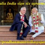Australia India sign six agreements Details