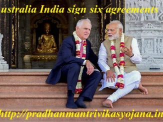Australia India sign six agreements