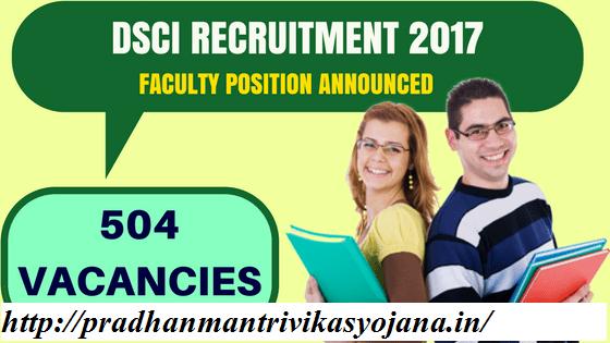 DSCI Recruitment 2017