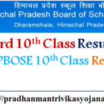 HP Board 10th Class Result 2017