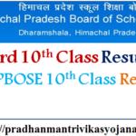 HP Board 10th Class Result 2017