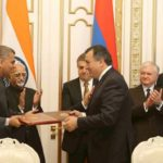 India Armenia Three agreements between