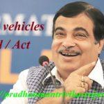 Motor vehicles Bill / Act