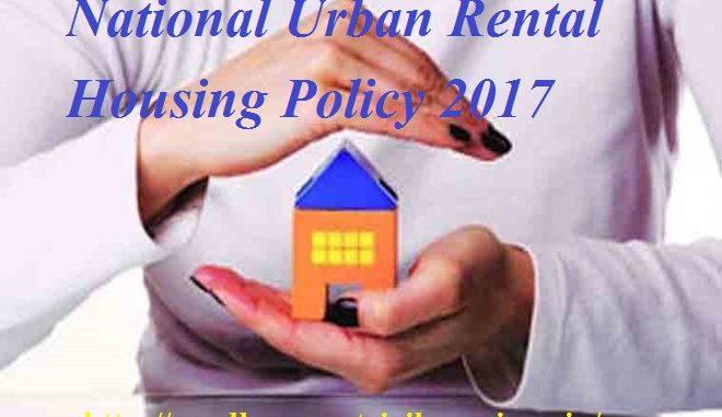 national urban rental housing policy