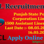 PSPCL Recruitment 2017 Apply Online – 1500 Assistant Linemen