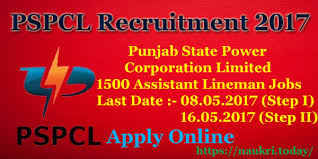 Click Here For PSPCL Recruitment 2017 Detailed Advertisement.