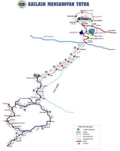 Kailash Mansarover Uttarakhand Route