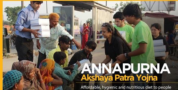 Punjab Annapurna Akshaya Patra Yojana in Chandigarh