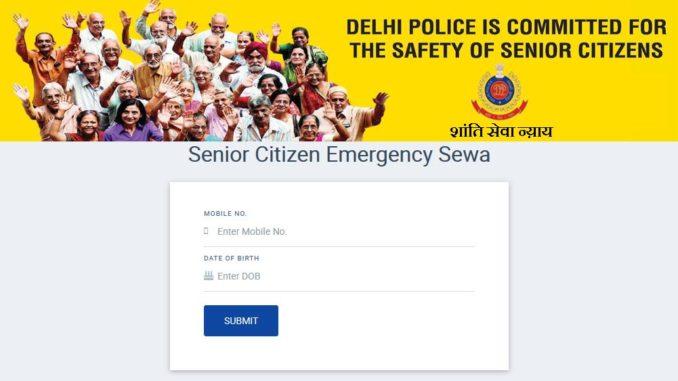 Apply Delhi Senior Citizen Identity Card