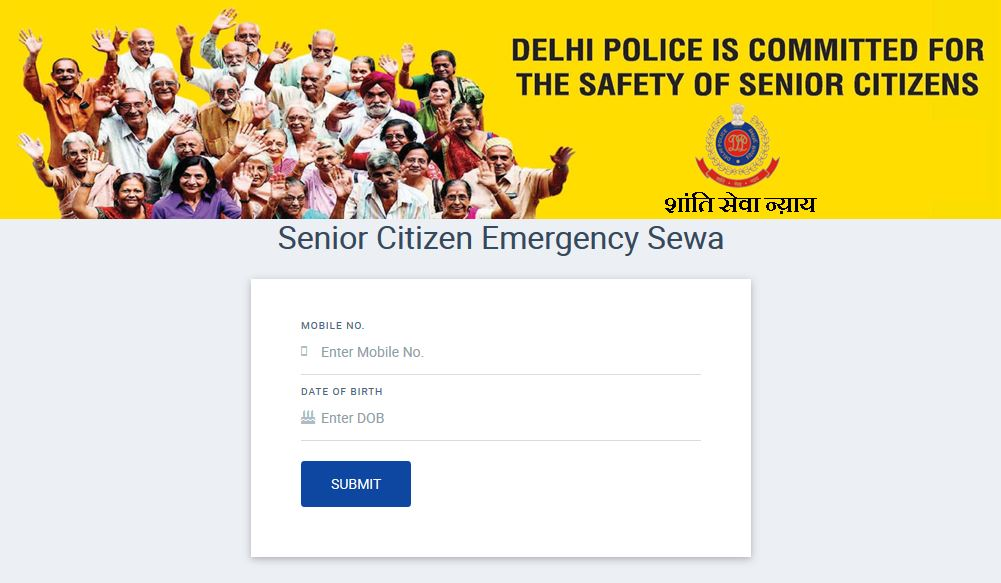 Apply Delhi Senior Citizen Identity Card