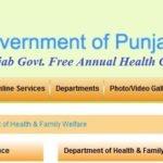 Punjab Govt. Free Annual Health Checkup Scheme