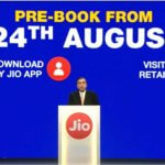 Onilne Booking and registration for Jio Free Mobiles will start soon