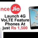 Jio Launch 4G Mobile
