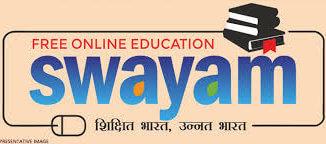 Swayam free online course scheme