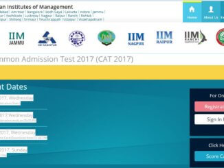 CAT 2017 Apply Online, Application Form