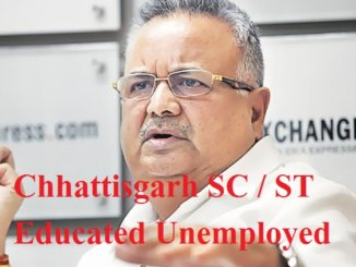 Chhattisgarh SC / ST Educated Unemployed