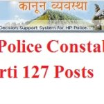 Notification HP Police Constable Bharti 1000 Posts Application Form
