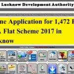 Online Application 1472 Flats LDA Lucknow