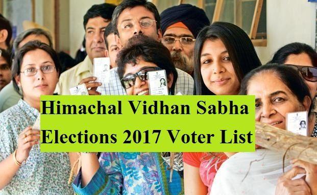 Himachal Vidhan Sabha Elections 2017 Voter List