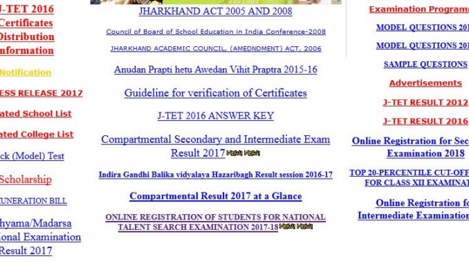 ONLINE REGISTRATION OF STUDENTS FOR NATIONAL TALENT SEARCH EXAMINATION 2017-18