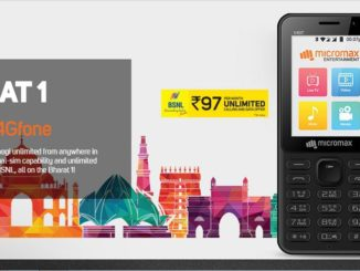 BSNL Micromax Bharat launch 4G Phone Online Booking