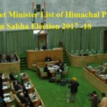 Cabinet Minister List of Himachal Pradesh 2017 -18