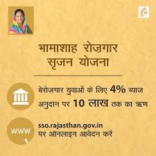 Online Application Bhamashah Rozgar Srijan Yojna Rajasthan