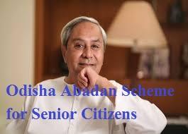 Odisha Abadan Scheme for Senior Citizens