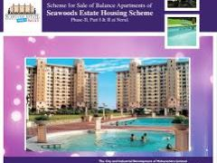 Apply Online for CIDCO Lottery 2017 Seawoods Estate Housing Scheme Mumbai