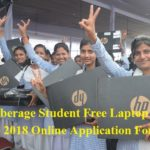 Goa Cyberage Student Free Laptop Scheme 2018 Online Application Form