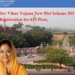 Jaipur Dev Vihar Yojana New Plot Scheme 2019 Online Registration for 635 Plots