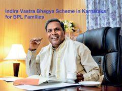 Indira Vastra Bhagya Scheme in Karnataka for BPL Families