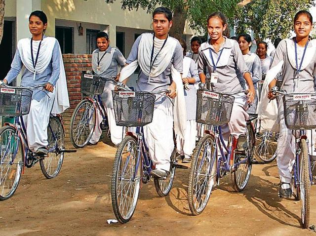 Free Cycles Scheme for SC Students in Haryana Government
