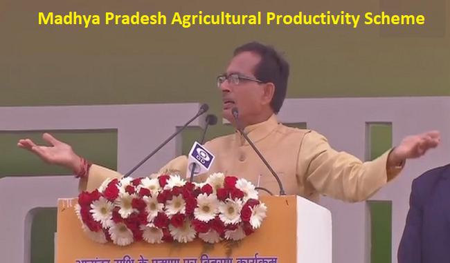 मध्य प्रदेश मुख्यमंत्री कृषि उत्पादकता योजना