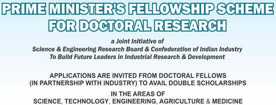 Prime Minister Research Fellowship Scheme
