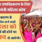 मध्य प्रदेश मुख्यमंत्री महिला कोष योजना एप्लीकेशन फॉर्म Madhya Pradesh Mukhyamantri Mahila Kosh Scheme
