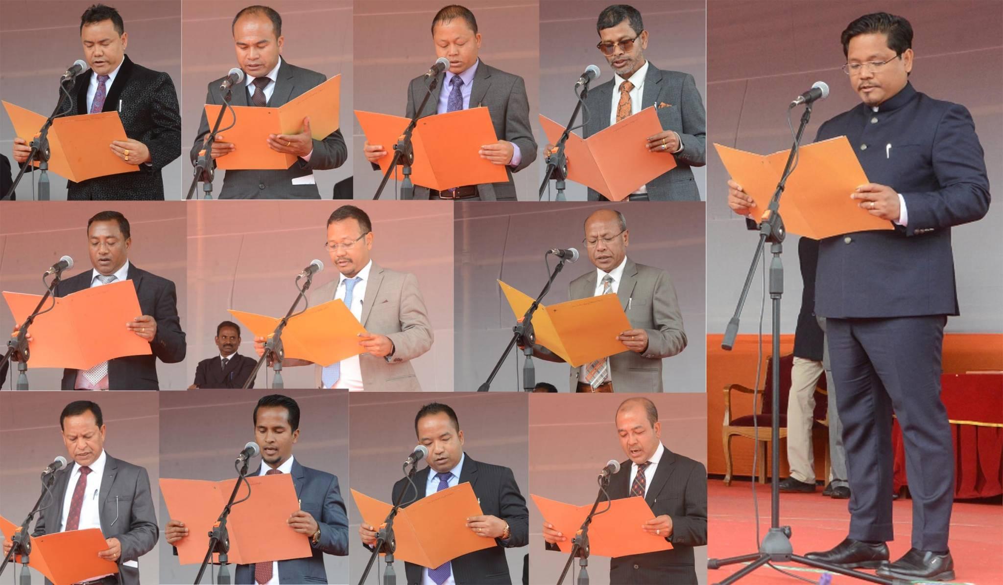 Meghalaya Cabinet Minister list 2018