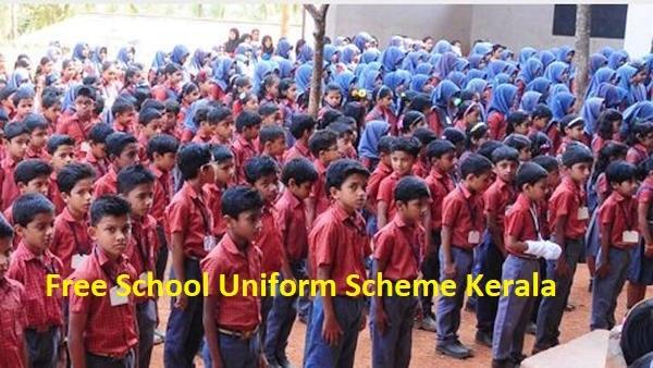 Free School Uniform Scheme Kerala