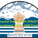 Himachal Pradesh IPH /PWD Recruitment 2018 |120 Posts