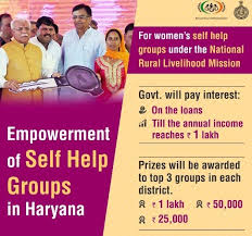 SHGs Women Interest Repayment Loans