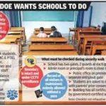 Delhi School Students Safety Rules