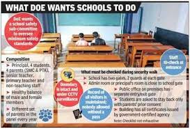 Delhi School Students Safety Rules