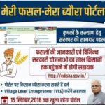 मेरी फसल मेरा ब्यौरा वेबसाइट किसान पंजीकरण 2020   Haryana Meri Fasal Mera Byora Portal