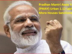 Pradhan Mantri Awas Yojana (PMAY) Urban 1.12 Lakh More Houses Sanctioned