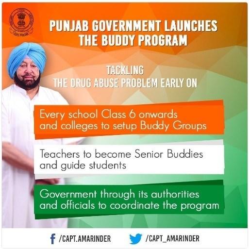 Punjab Buddy Drug Eradication Program