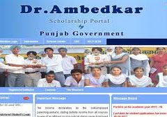 Punjab SC OBC Students Free Education Scheme 2018-19 for Apply form