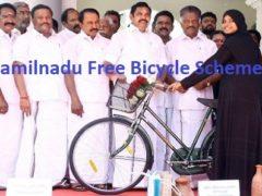 Tamilnadu Free Bicycle Scheme