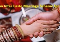 Goa Inter Caste Marriage Scheme for SC