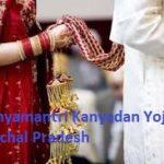 Application form Mukhya Mantri Kanyadan Yojana Himachal Pradesh | हिमाचल प्रदेश मुख्यमंत्री कन्यादान योजना एप्लीकेशन फॉर्म